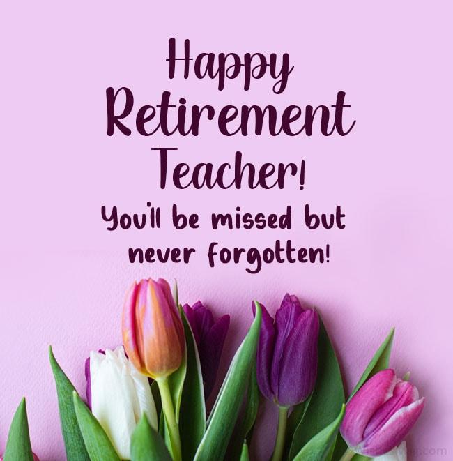 retirement wishes for teacher