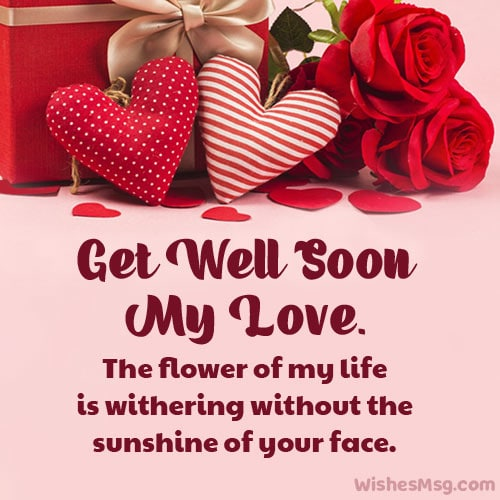 romantic get well soon quotes