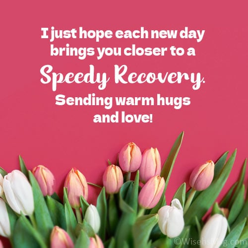 speedy recovery messages