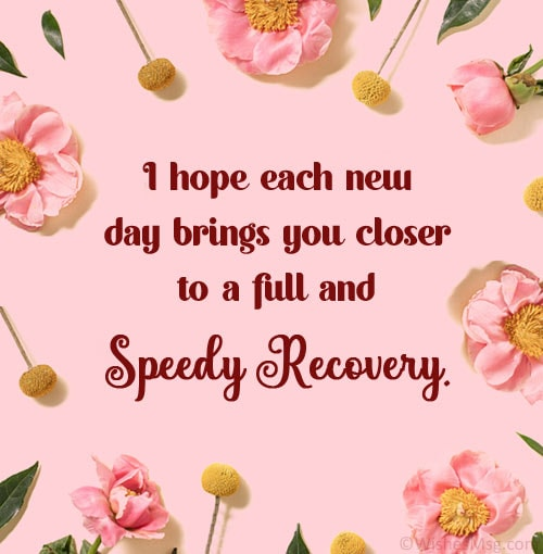 speedy recovery wishes for surgery