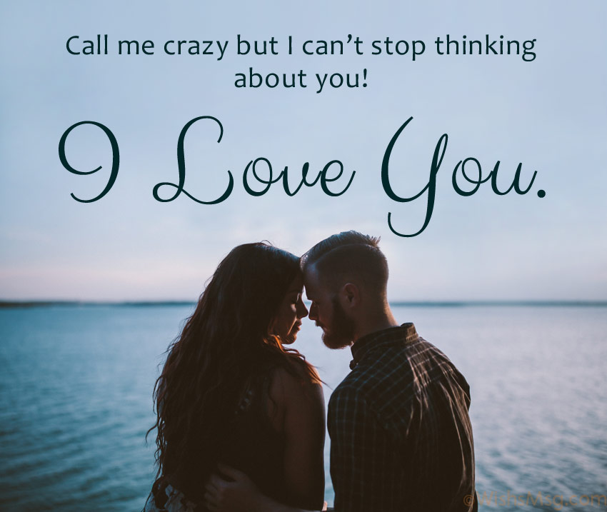 sweet love message for him