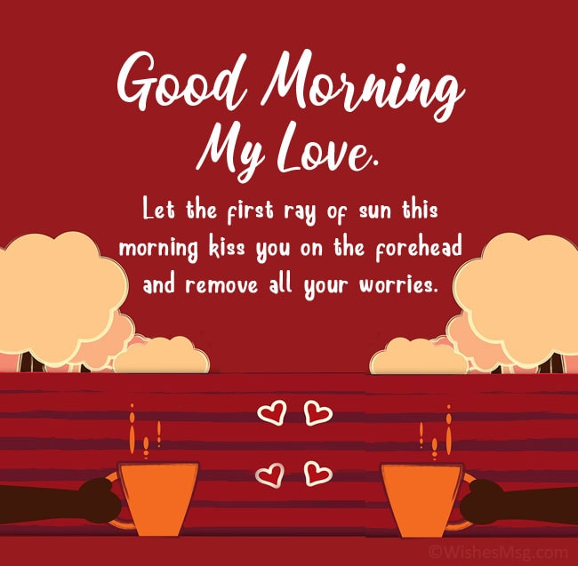 sweet things to say to your girlfriend at morning