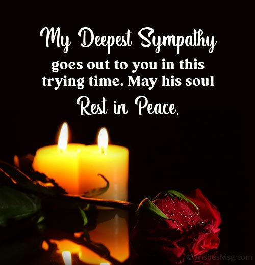 sympathy images for loss of husband
