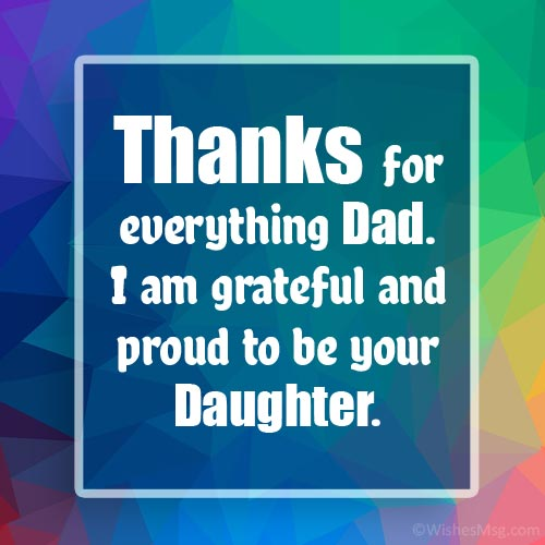 thank you dad quotes from daughter