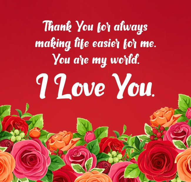 thank you for anniversary wishes wife