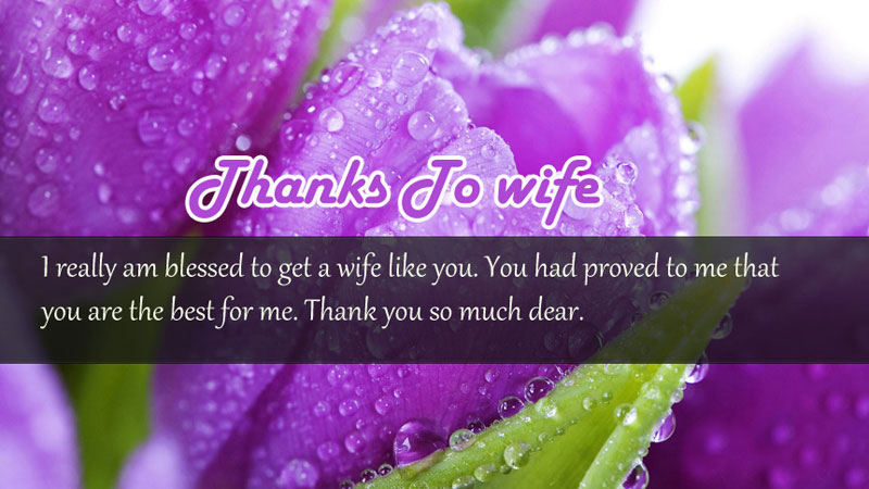 Thank You Messages For Wife, Sweet Wishes & Quotes
