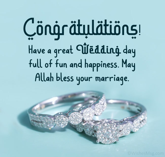 Shower marriage his allah may blessings on your 23 Beautiful