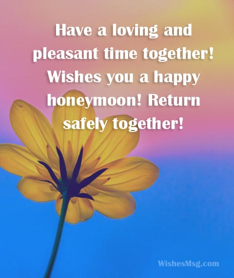 Honeymoon wishes and messages for newly wed couple wishesmsg wishes for honeymoon m4hsunfo
