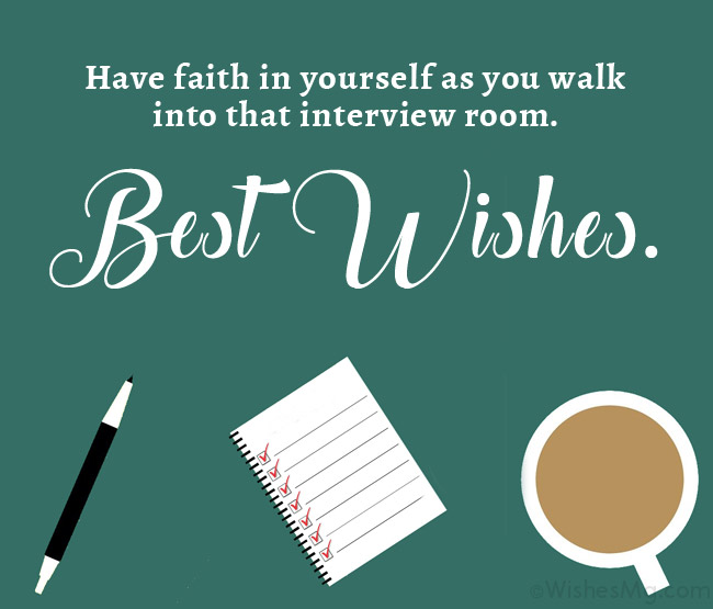 wishes for interview