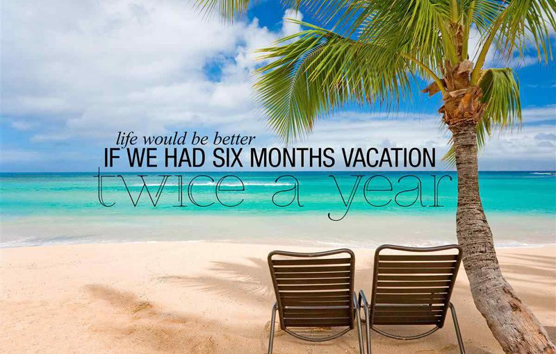 Vacation Messages & Wishes To Enjoy Your Vacation