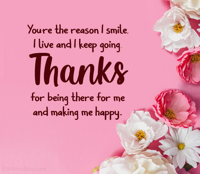 you make me happy quotes for her